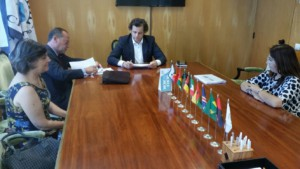 Galeria de fotografias da Assinatura do Protocolo UE-CPLP e a APE